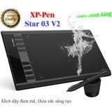Bảng vẽ điện tử XP-PEN STAR 03 V2 12INCH Bút STYLUS Không sạc