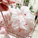 Dây buộc tóc scrunchies hoa tuylip nhí siêu xinh