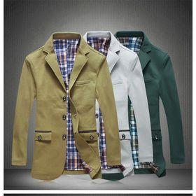 Áo khoác kaki nam Jacket viền túi – MS0029AK